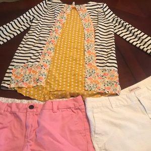 Matilda Jane Tween Adorable 3 pc short/shirt set